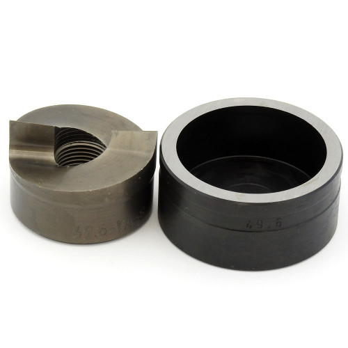 """ALFRA 01563 TwinCut Round Punch and Die Set 1-15/16"""" DIA"""