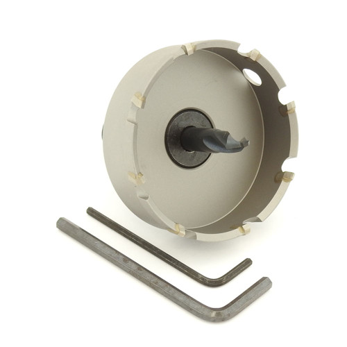 "ALFRA 0730067 MBS Series TCT HOLE SAW, 2-5/8"" DIA, 5/8"" DOC"
