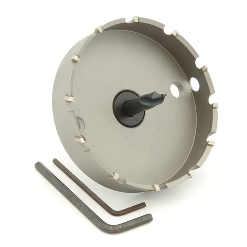"ALFRA 0730092 MBS Series TCT HOLE SAW, 3-5/8"" DIA, 5/8"" DOC"
