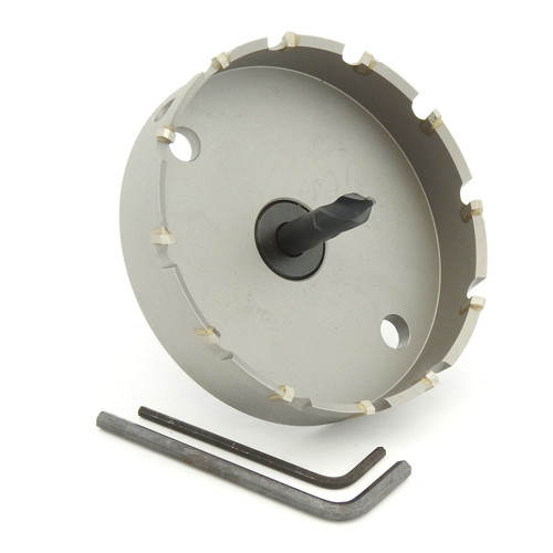 "ALFRA 0730094 MBS Series TCT HOLE SAW, 3-11/16"" DIA, 5/8"" DOC"