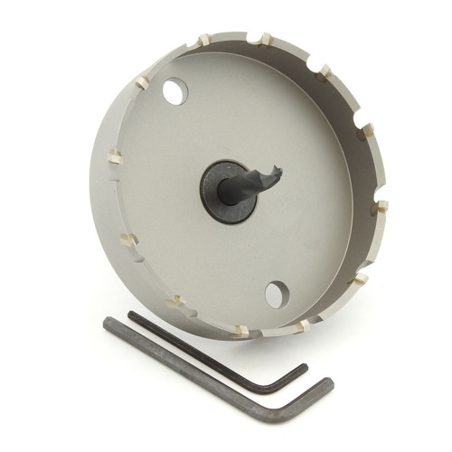 "ALFRA 0730095 MBS Series TCT HOLE SAW, 3-3/4"" DIA, 5/8"" DOC"