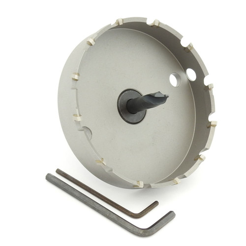 "ALFRA 0730097 MBS Series TCT HOLE SAW, 3-13/16"" DIA, 5/8"" DOC"