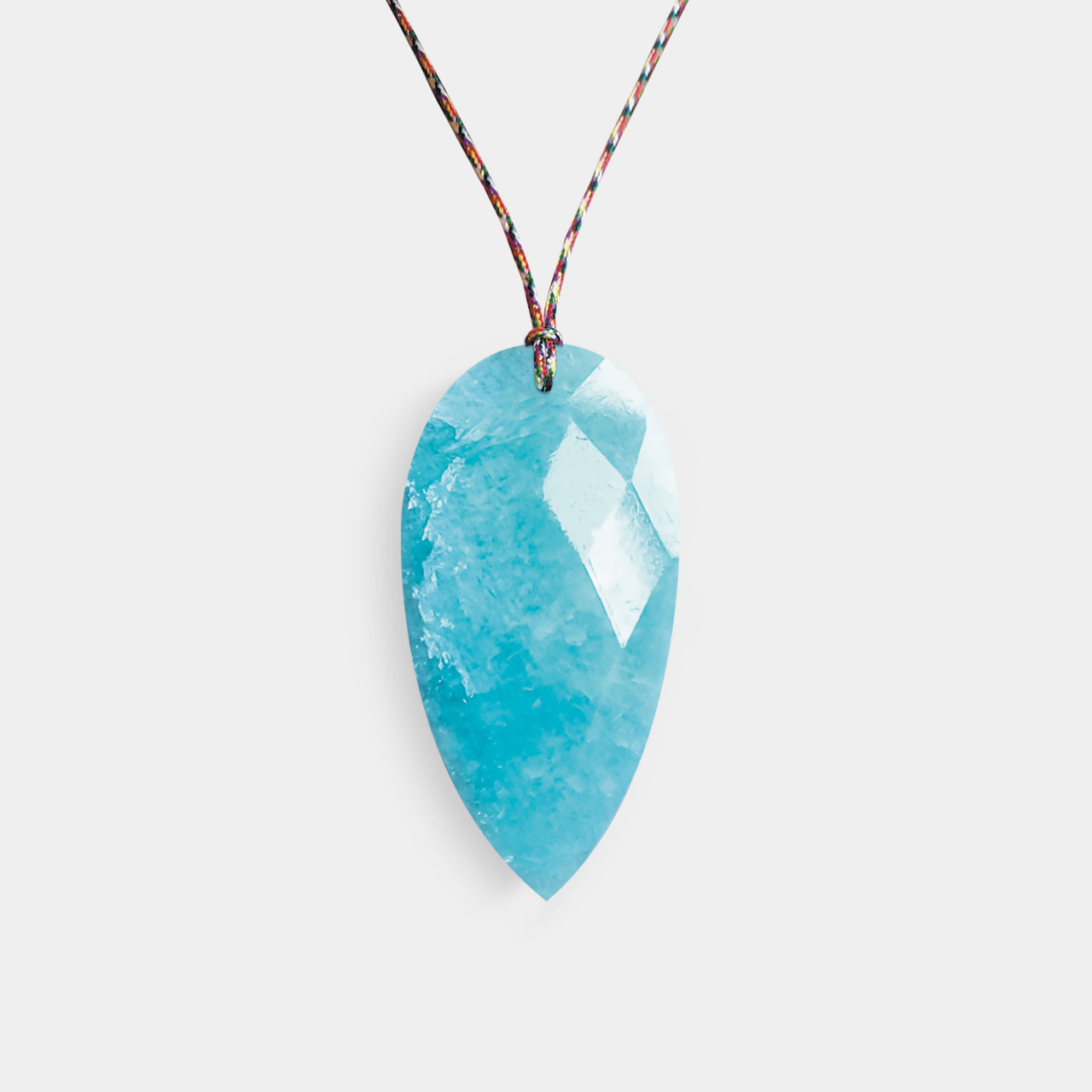 Collier Homme Cordon Amazonite, Collier Charly Homme Amazonite