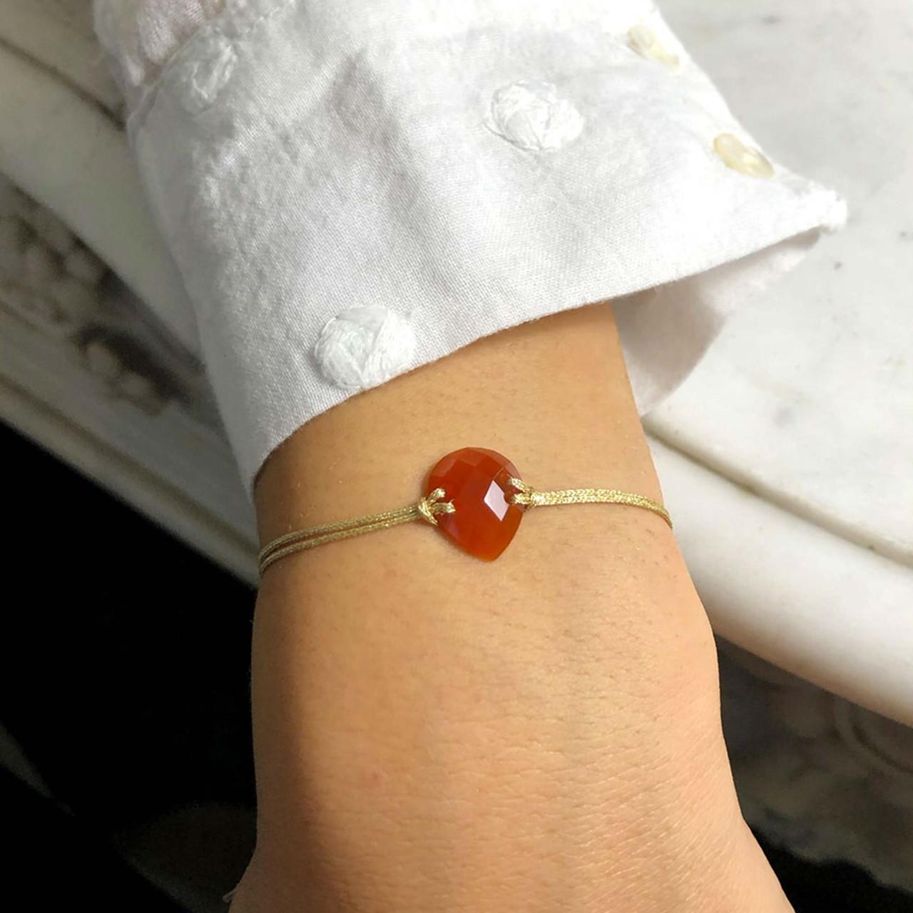 collection envoutante, neve, bambou colliers et bracelet pierre fine or blanc jaune et rose avec diamants