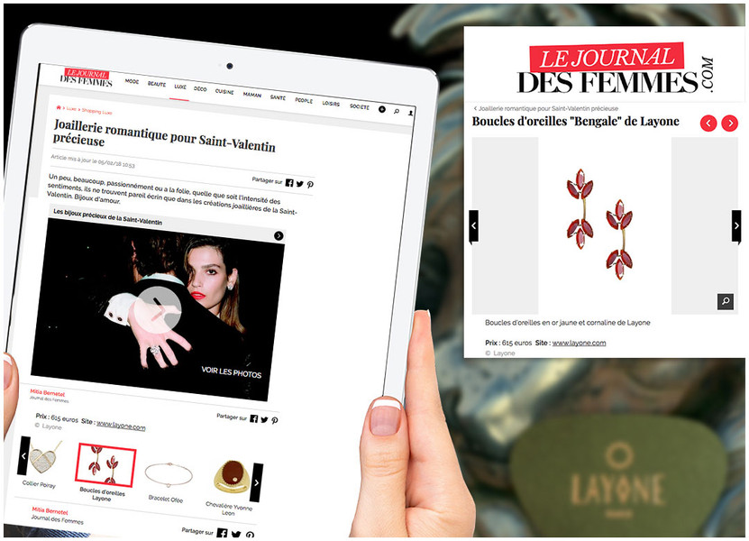 Le journal des Femmes -  La Créatrice Morganne Bello Février 2019