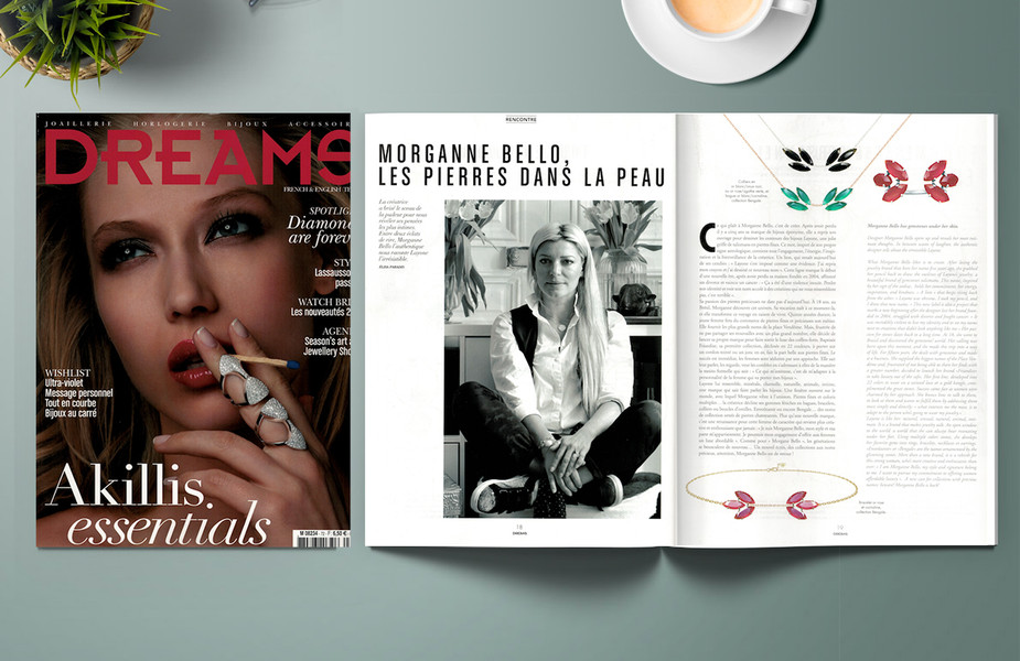 DREAMS Magazine - Les Pierres Dans la Peau avec Morganne Bello - LAYONE Paris