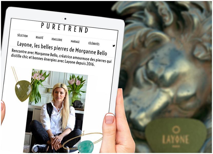 PURE TREND - La Pierre Semi Précieuse selon la Créatrice Morganne Bello
