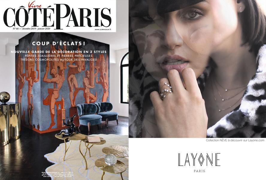 Bijoux Diamants de la Collection NËVE - Magazine Côté Paris