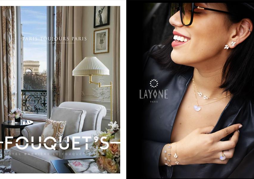 Bijoux LAYONE - La Nouvelle Maison de la créatrice Morganne Bello - Magazine FOUQUET'S