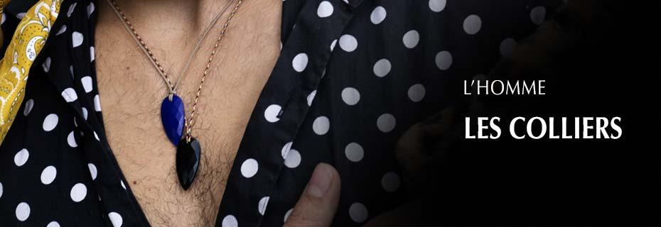 Bijoux Homme, Bijoux Cordons Homme, Colliers Homme, Colliers Cordons Homme