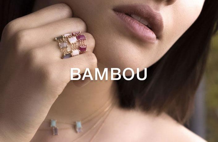 Collection Bambou, Bijoux LAYONE Paris