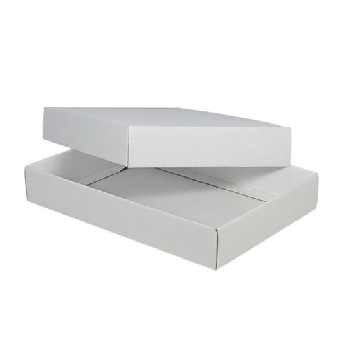 A4 Cardboard Gift Box - Kraft White