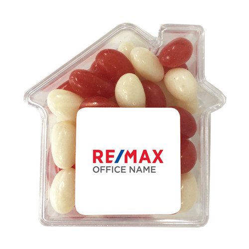 House Shaped Jelly  Beans - Choose Your Flavours