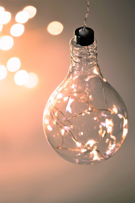 Light Bulb Hanging Glass  Light *