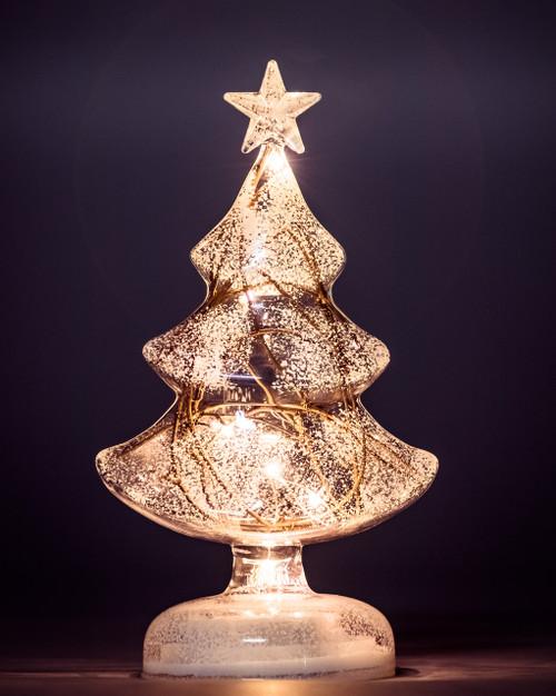 Table Top Winter Christmas Tree*