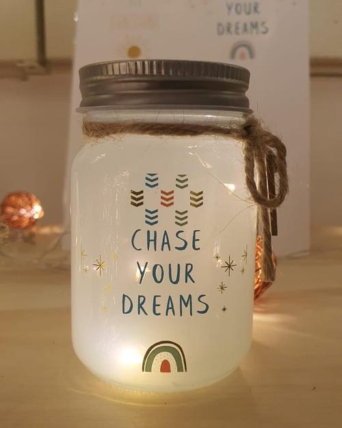 Mini Message White Sparkle Jars ~ set of 3*