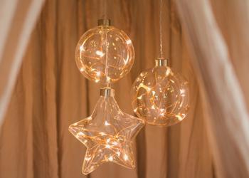 Hanging Glass Lights *