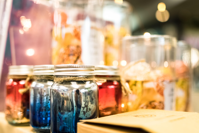 Sparkle Jars in Paper Plus South City