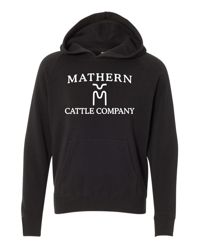 Mathern Cattle Co. PRM15YSB Youth Special Blend Raglan Hoodie