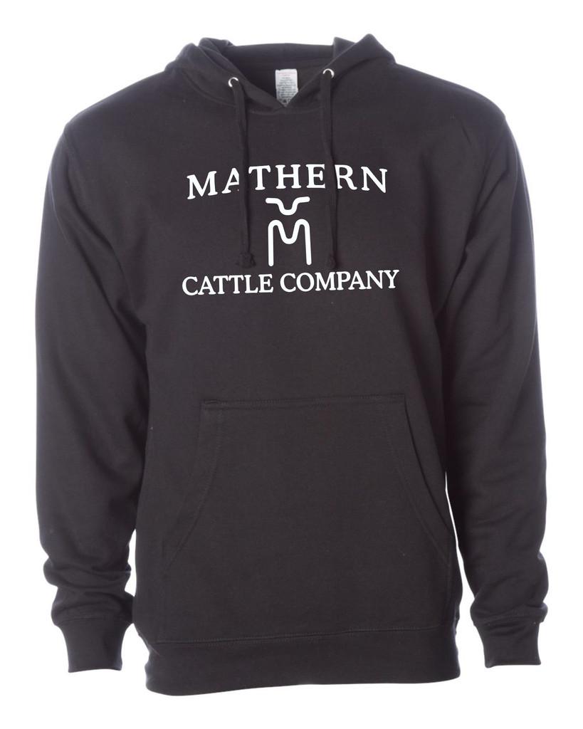 Mathern Cattle Co. SS4500 Unisex Midweight Hooded Sweatshirt