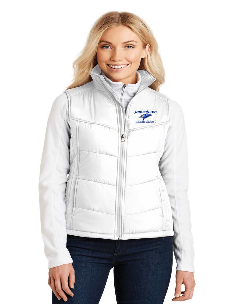 JMS L709 Ladies Puffy Vest