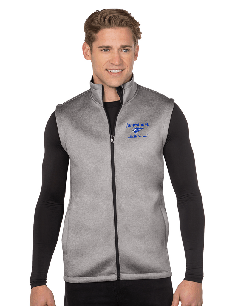 JMS F7002 Unisex Layer Knit Vest