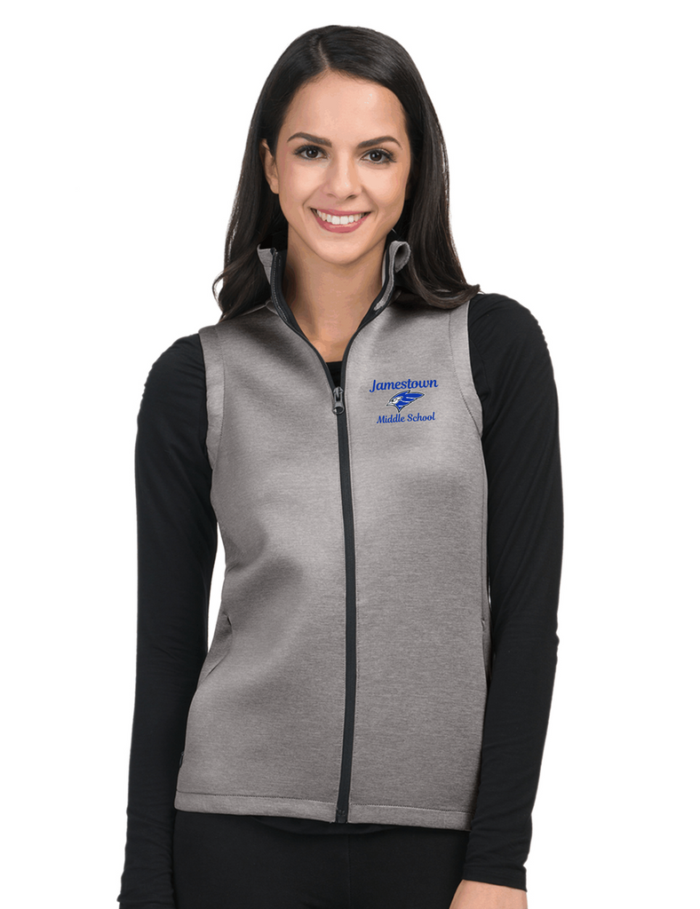 JMS FL7002 Ladies Layer Knit Vest