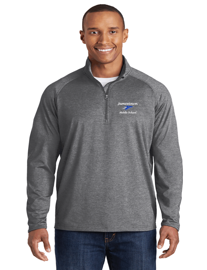 JMS ST850 Unisex Half Zip Pullover