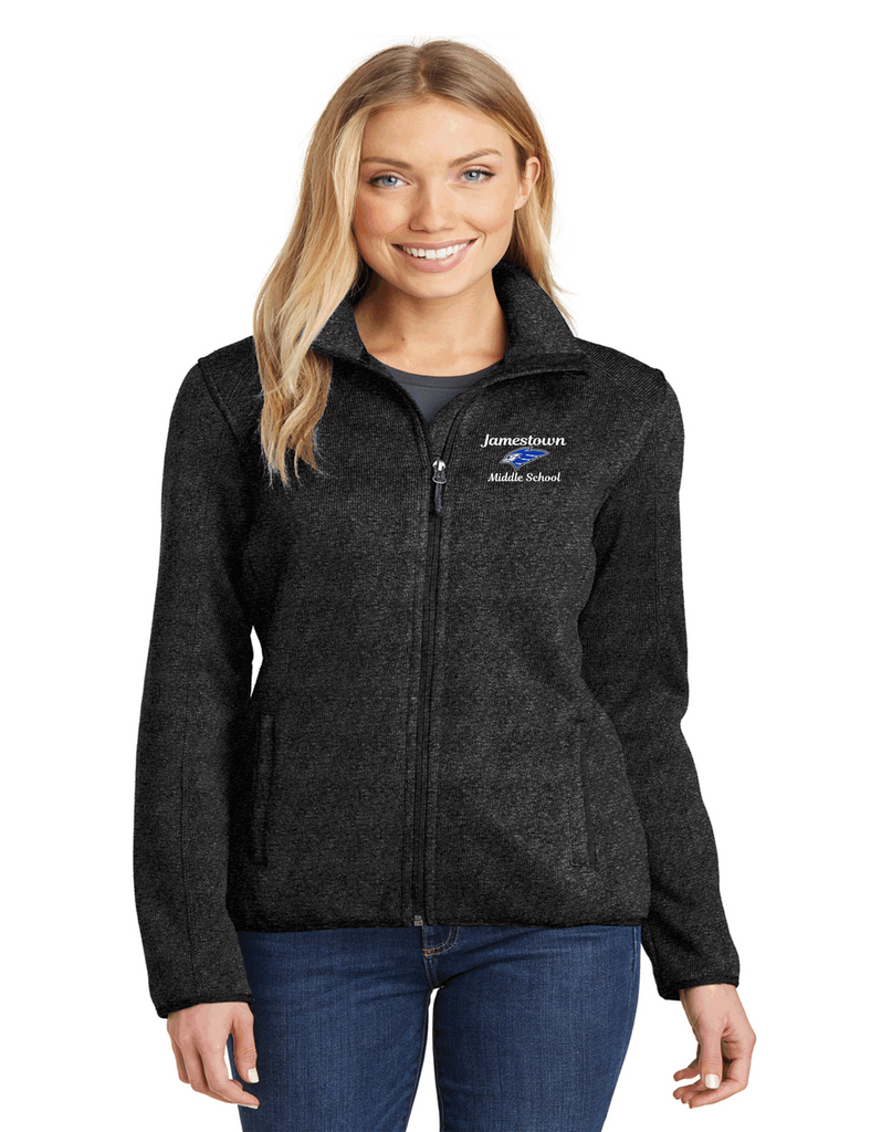 JMS L232 Ladies Sweater Fleece Jacket