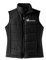 JRMC L709 Port Authority® Ladies Puffy Vest