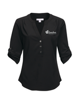 JRMC LB758 Ladies Amelia 3/4 Sleeve Button Shirt