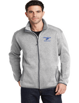 JMS F232 Unisex Sweater Fleece Jacket