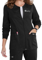 JRMC 4315 Ladies Zip Front Warm Up Jacket