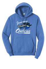 Outlaw SB PC78H Unisex Port and Company Core Fleece Pullover Hoodie