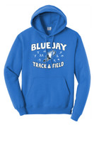 Blue Jay Track PC78H Unisex Port and Company Core Fleece Pullover Hoodie