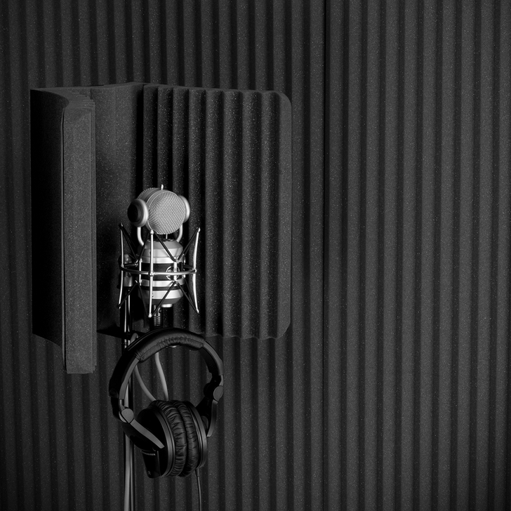 MudGuard™ v2 Microphone Isolation Shield
