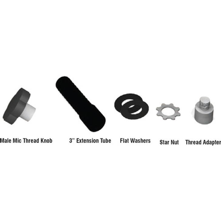 MudGuard™ v2 Microphone Isolation Shield Hardware Kit