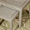 Longs Peak Eucalyptus Nesting Tables 2-Piece Set