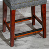 "DTY Indoor Living Grand Lake Backless Stool, 24"" Counter Height, Footrest Protector"