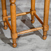 """DTY Indoor Living Emerald Lake Backless Stool, 24"""" Counter Height Footrest"""