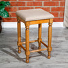 """DTY Indoor Living Emerald Lake Backless Stool, 24"""" Counter Height"""
