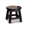 Fairplay Carved Wooden Step Stool