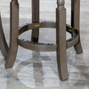 DTY Indoor Furniture Palmer Lake Swivel Stool Weathered Gray French Gray