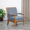 DTY Indoor Living Silverthorne Spindle Chair Weathered Oak, Ash