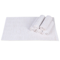 House This ® 100% Cotton Luxe Placemats, Perfect for Everyday and Fine Dining Set of 4,