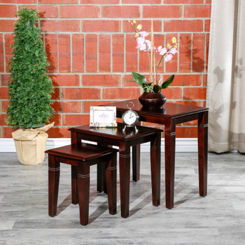 DTY Indoor Living® Golden 3-Piece Nesting Tables