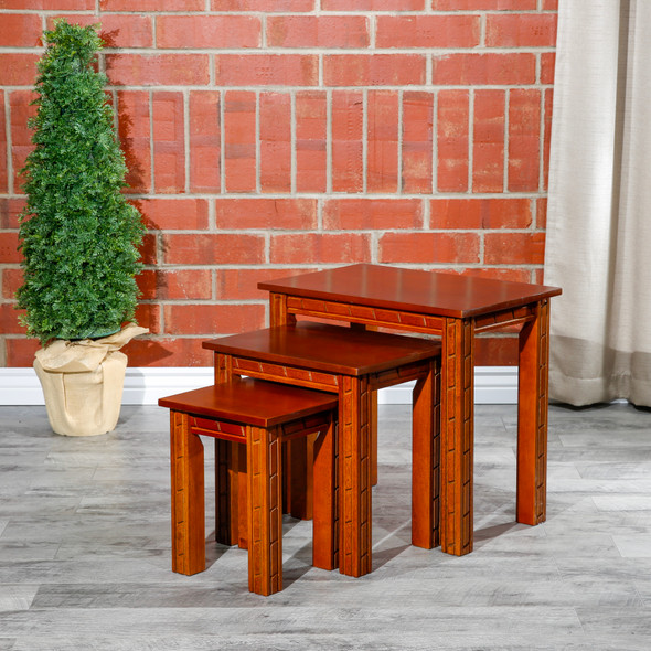 Pueblo 3-Piece Nesting Tables