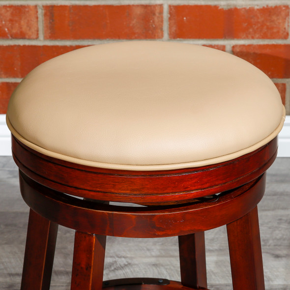 "Creede Backless Swivel Stool, 24"" Counter or 30"" Bar Stool"
