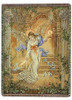 Angel of Light Throw Blanket