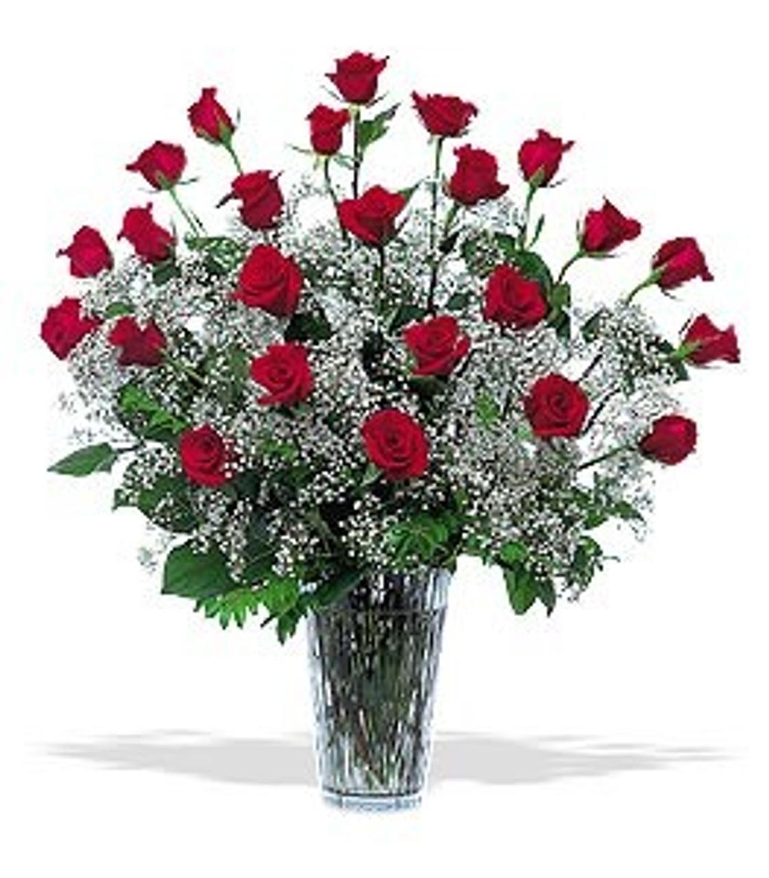 2 Dozen Red Rose Bouquet Gidas Flowers Serving Pittsburgh Pa